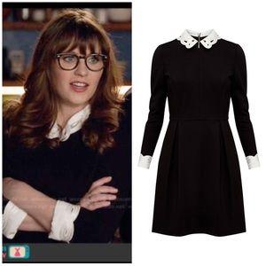 """Ted Baker """"Shealah"""" black dress 1(US 4)"""